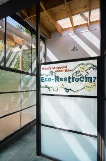 Eco-Restroom, Bronx Zoo Location: Bronx New York, Architect: Edelman Sultan Knox Wood Architects